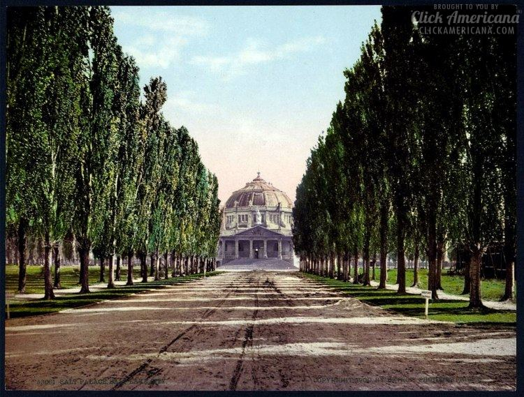 Salt Palace, Salt Lake City in 1900