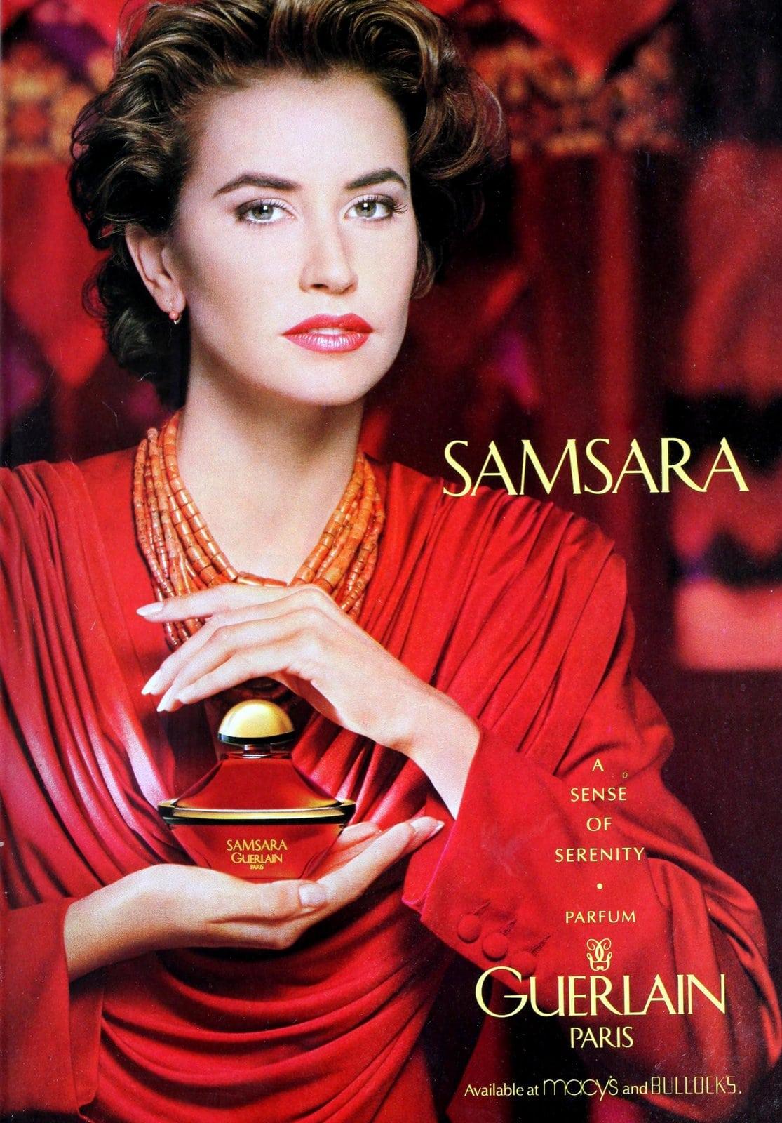 Samsara parfum from Guerlain Paris (1992) at ClickAmericana.com