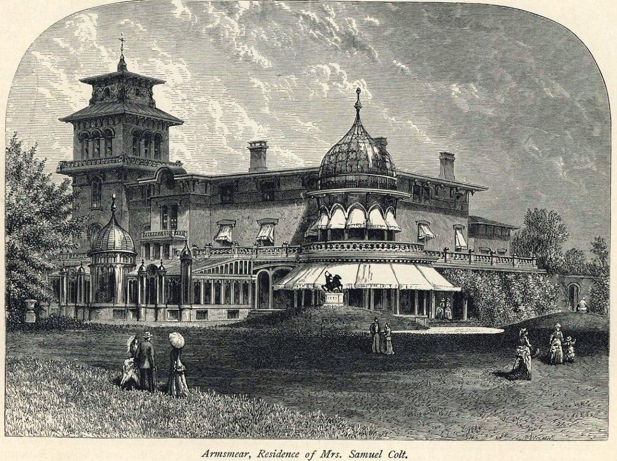 Samuel Colt's Victorian mansion - Vintage house Armsmear in CT (1)