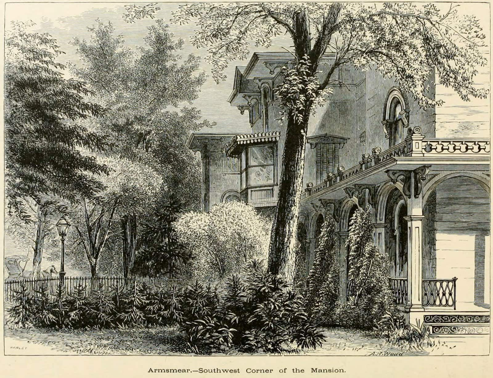 Samuel Colt's Victorian mansion - Vintage house Armsmear in CT (2)
