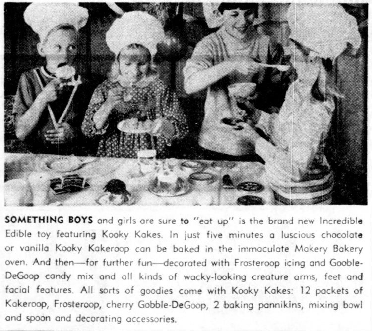 San Antonio Texas - Incredible Edibles and other treats for kids to make - from 1968