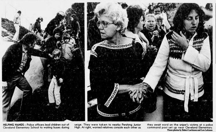 San Diego 1979 school sniper scenes