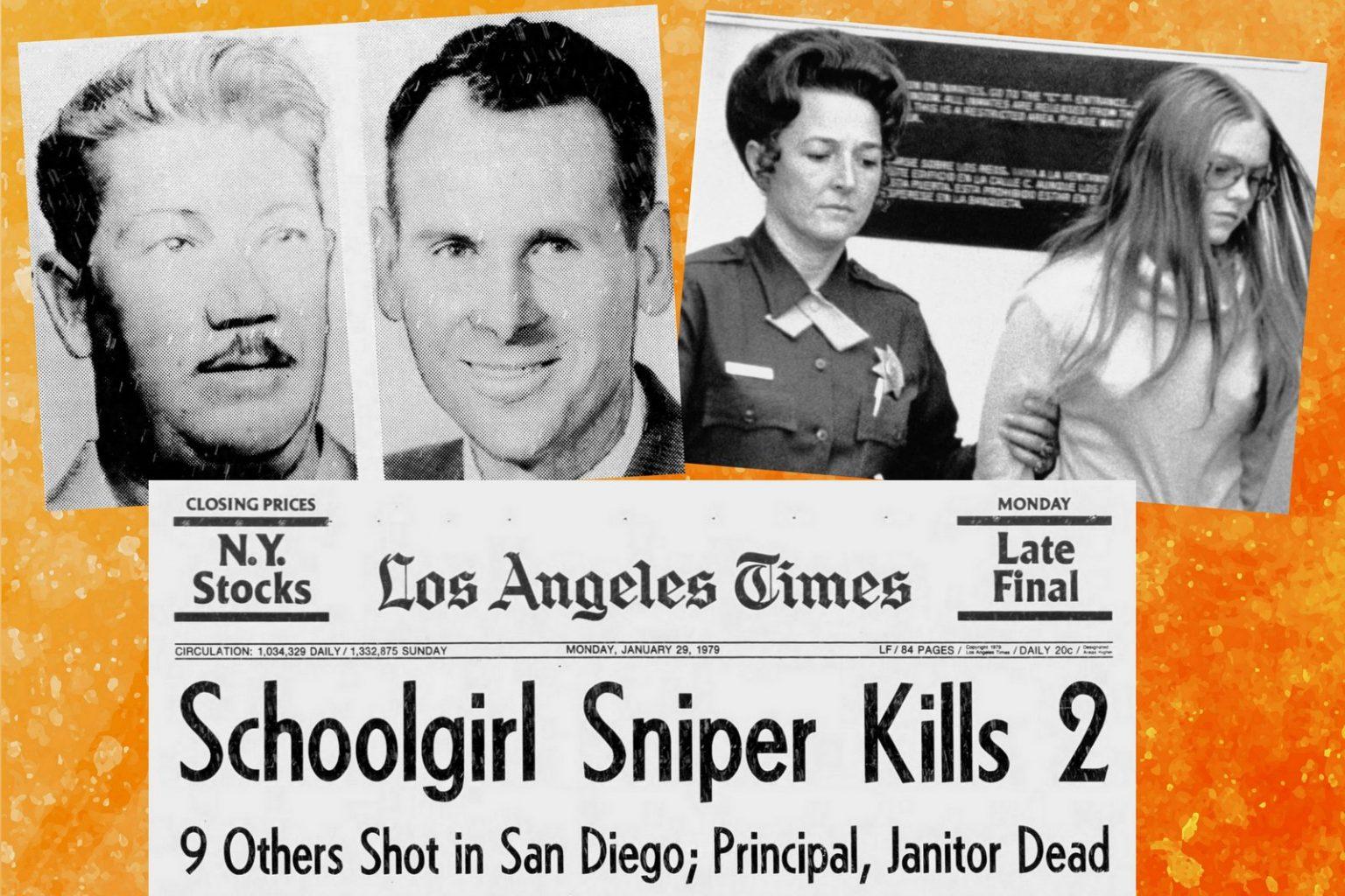 San Diego school shooting in 1979 Why Shooter, a teenage girl, said she didn't like Mondays