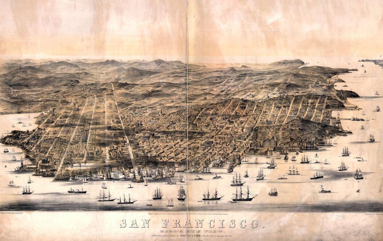 San Francisco 1864