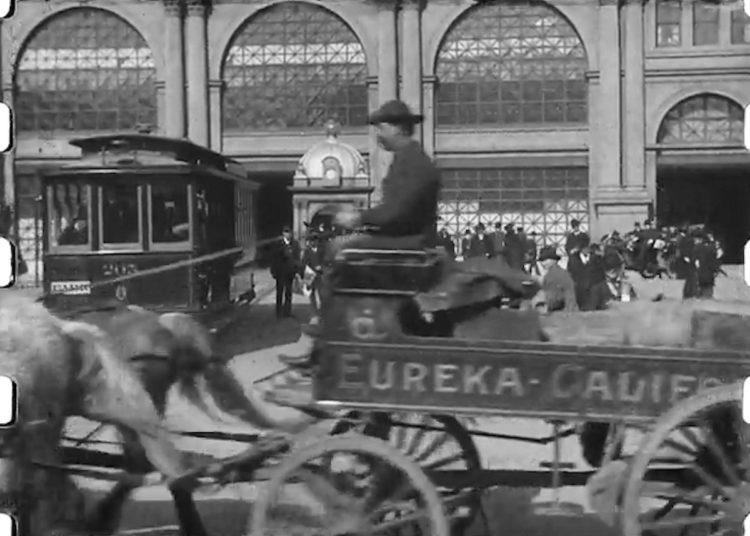 San Francisco 1906 - A Trip Down Market Street (1)