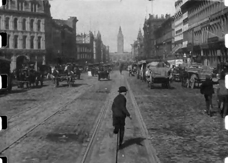 San Francisco 1906 - A Trip Down Market Street (3)