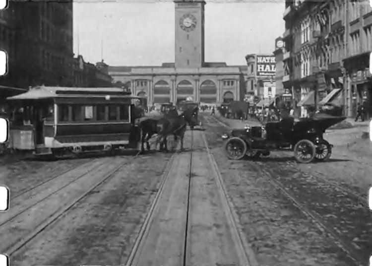 San Francisco 1906 - A Trip Down Market Street (4)