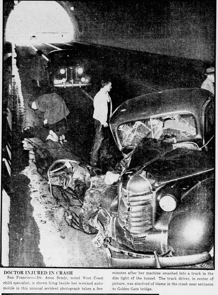 San Francisco car accident from 1938