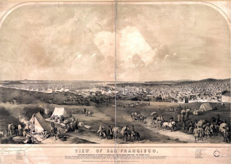 San Francisco in 1851