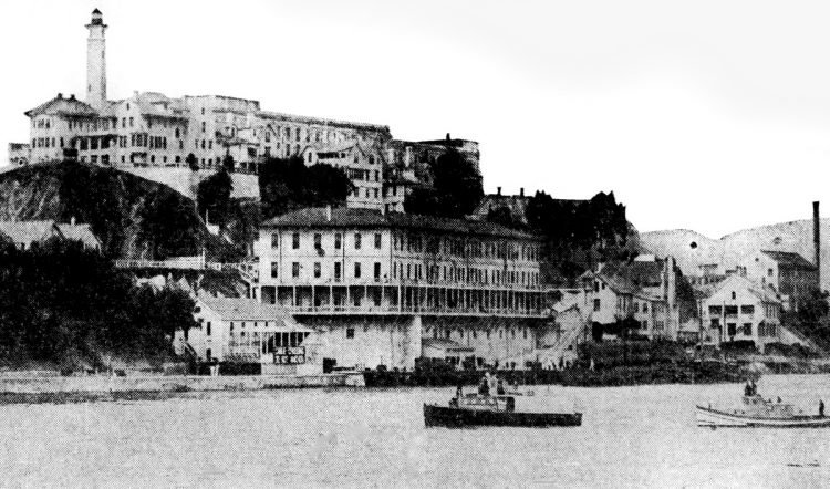 San Francisco prison - Alcatraz in the 1930s