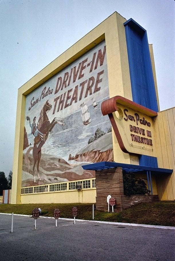 San Pedro Drive-In Theater California