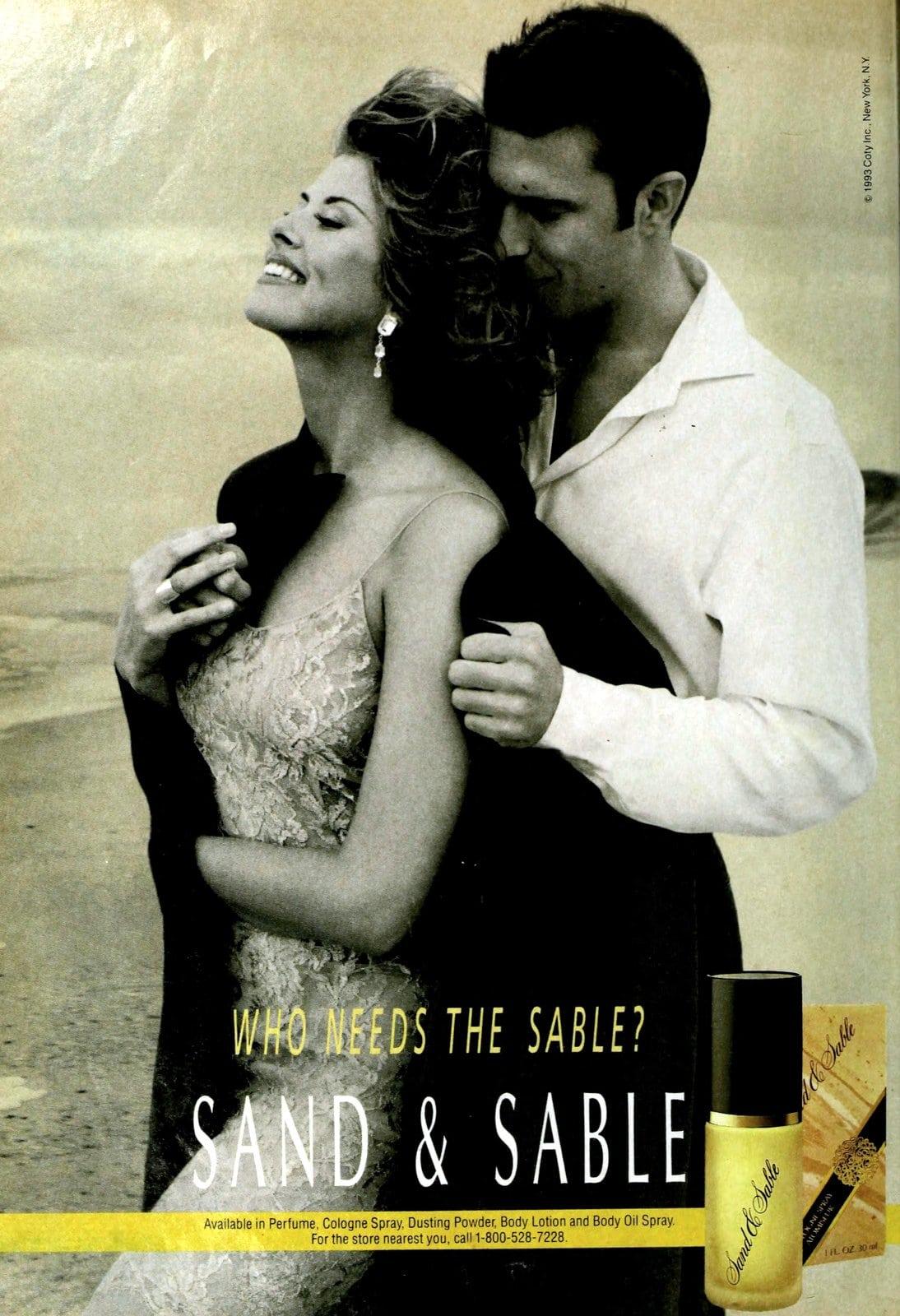 Sand and Sable perfume (1993) at ClickAmericana.com