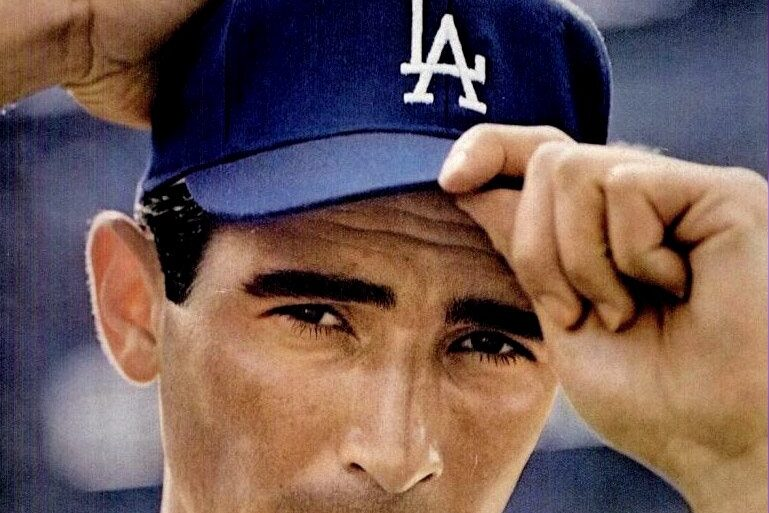 Sandy Koufax on the cover of Life magazine - August 2, 1963