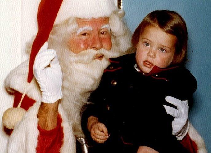 Santa in the 1970s