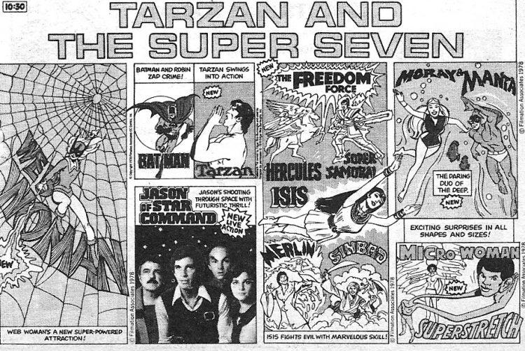 Tarzan and the Super Seven (1978)