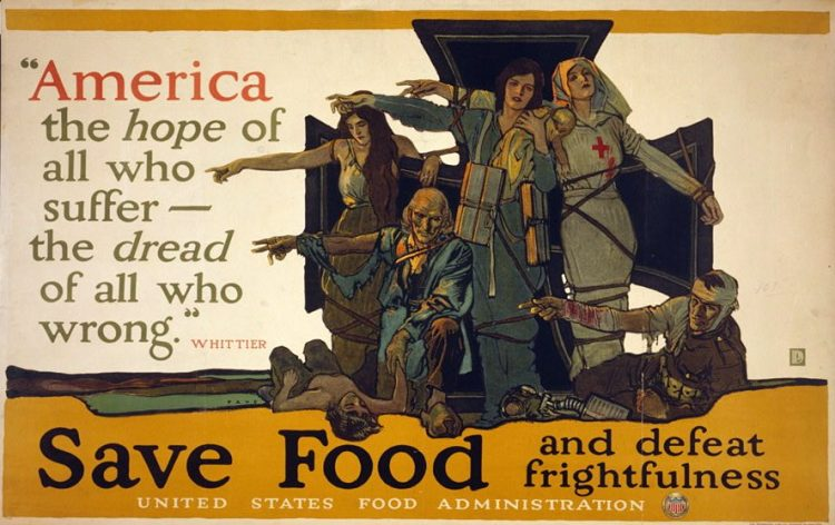 Save food and defeat frightfulness 1917