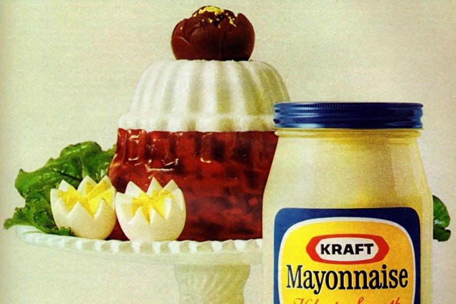 Savory Cossack mold with mayo (1972)