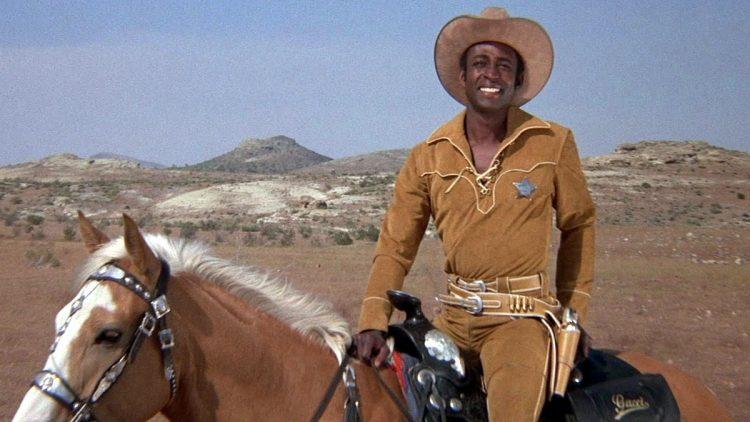 Scene from Blazing Saddles (3)