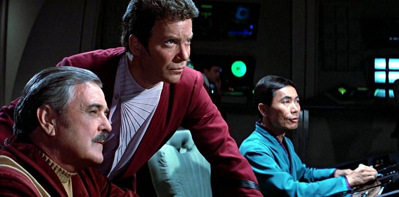Scene from Star Trek III - Search for Spock