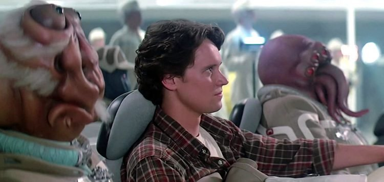 Scene from The Last Starfighter - Vintage 80s movie (8)