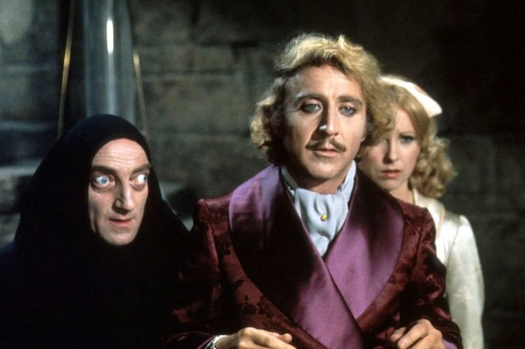 Scene from classic Young Frankenstein movie