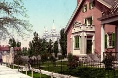 Scenes Salt Lake City in 1900
