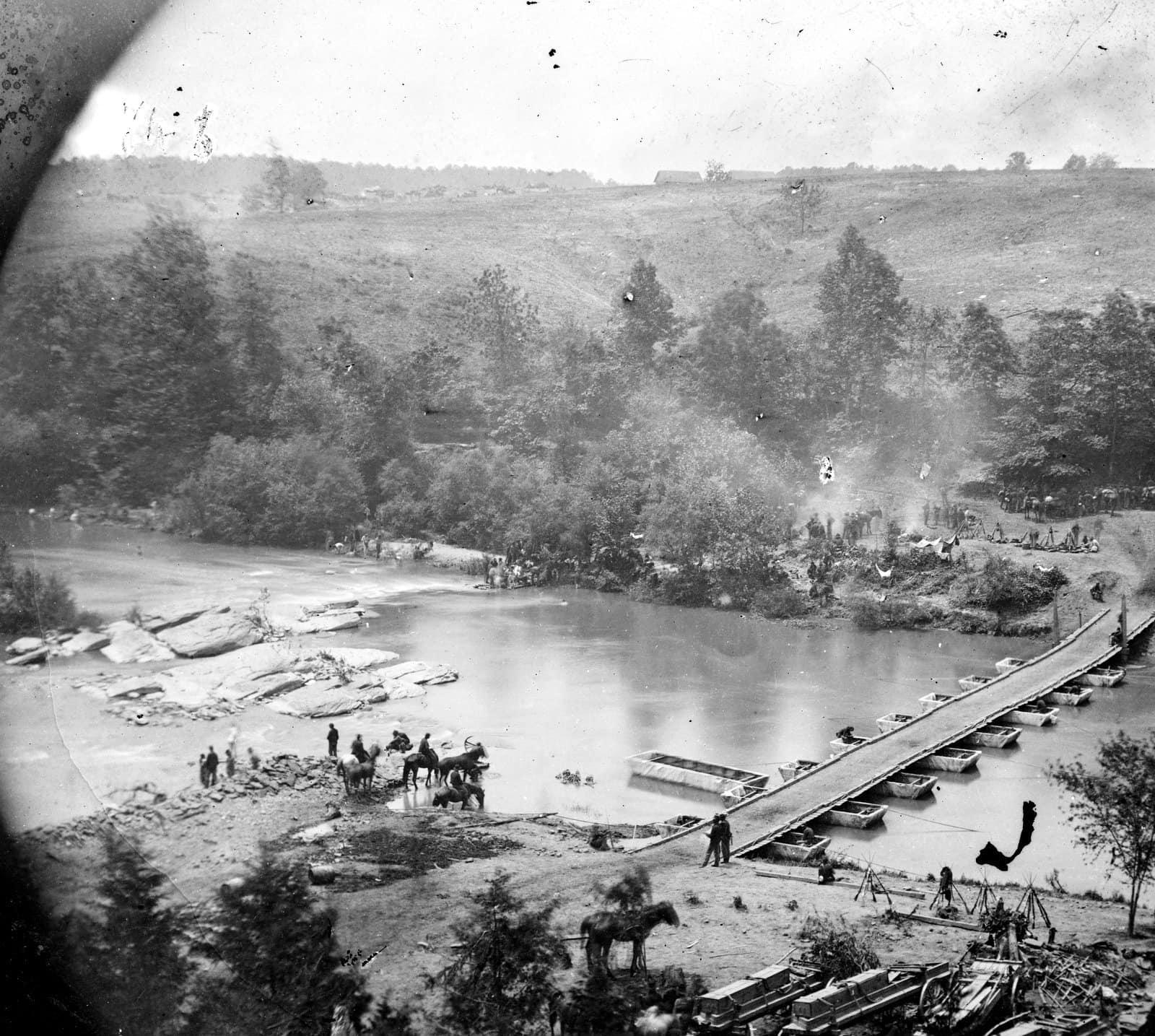 Scenes from Civil War Battle of the Wilderness (3)