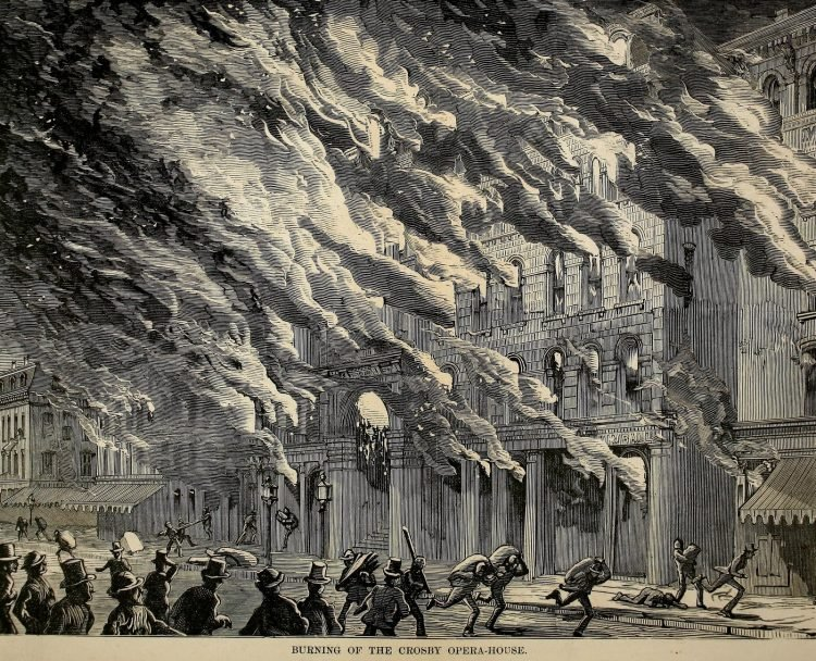 Scenes from the Great Chicago Fire of 1871 (5)