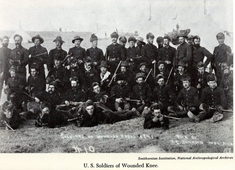 Scenes from the battlefield - Wounded Knee Massacre 1890 (2)