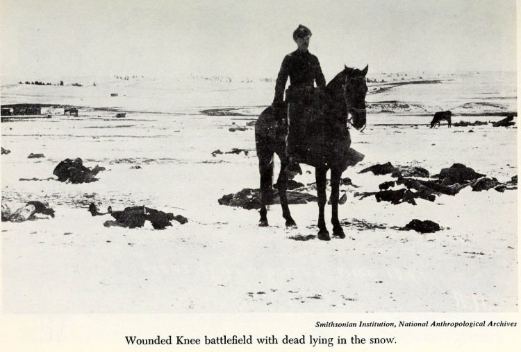 Scenes from the battlefield - Wounded Knee Massacre 1890 (3)