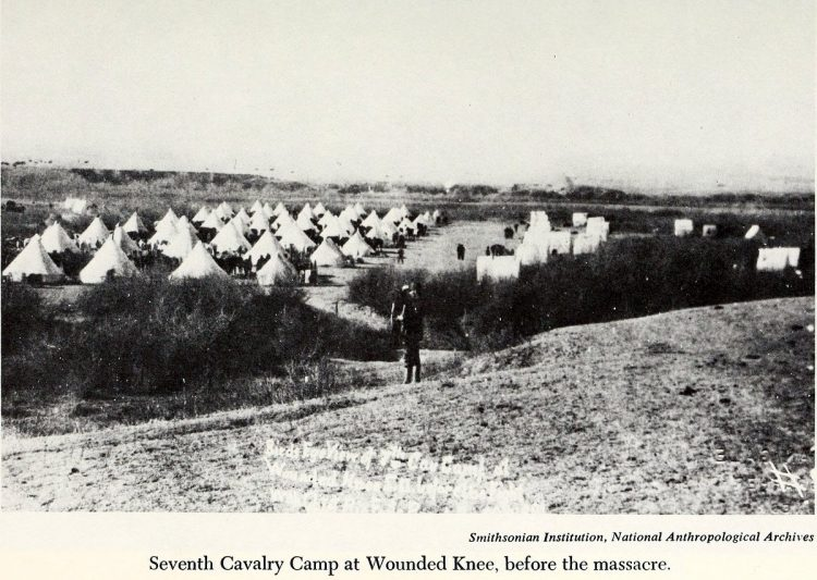 Scenes from the battlefield - Wounded Knee Massacre 1890 (5)