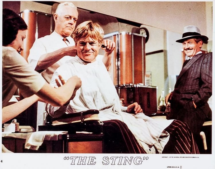 Scenes from the classic 1973 movie The Sting (2)