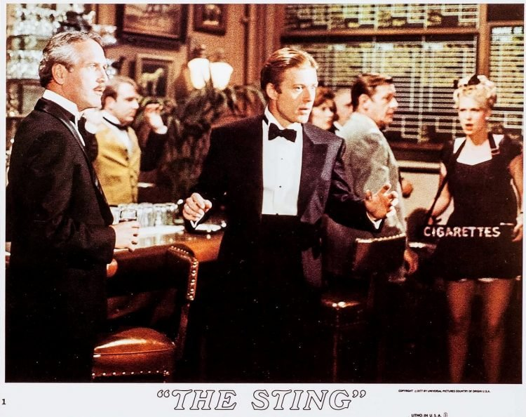 Scenes from the classic 1973 movie The Sting (3)
