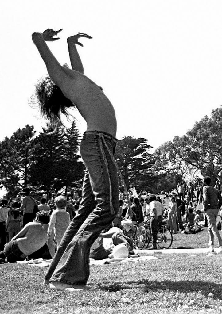 Scenes from the original Woodstock music festival in 1969 (2)