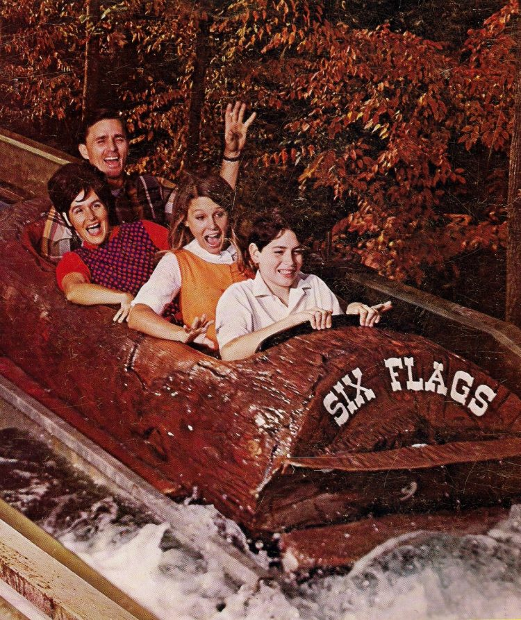 Scenes from vintage Six Flags over Texas (6)