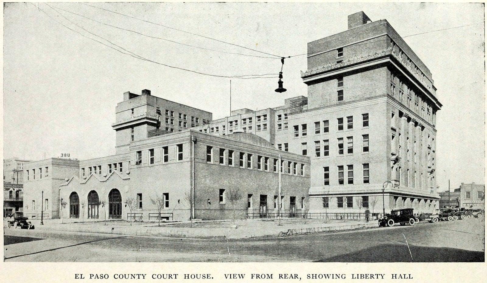 Scenes of old El Paso in 1923 (1)