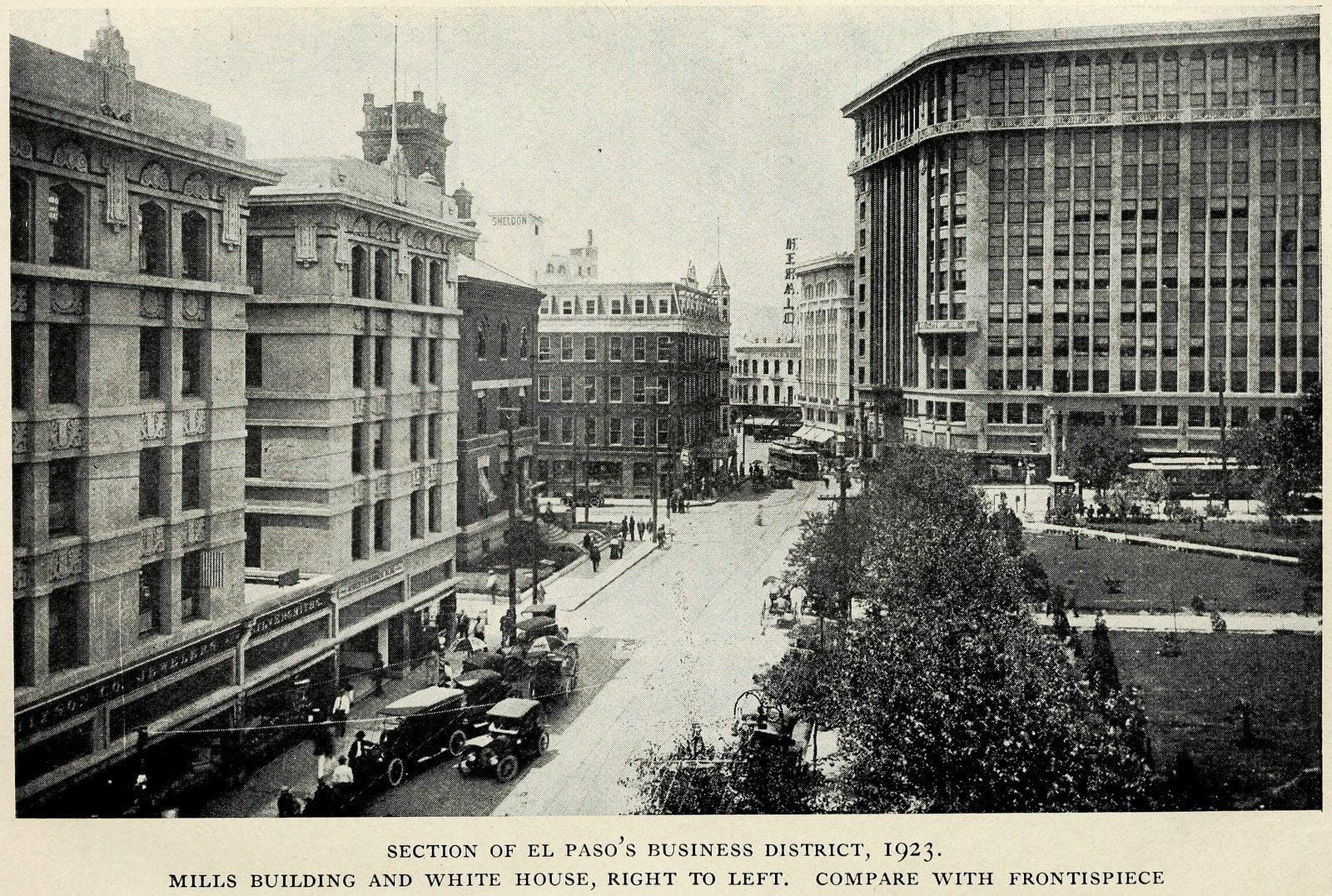 Scenes of old El Paso in 1923 (2)