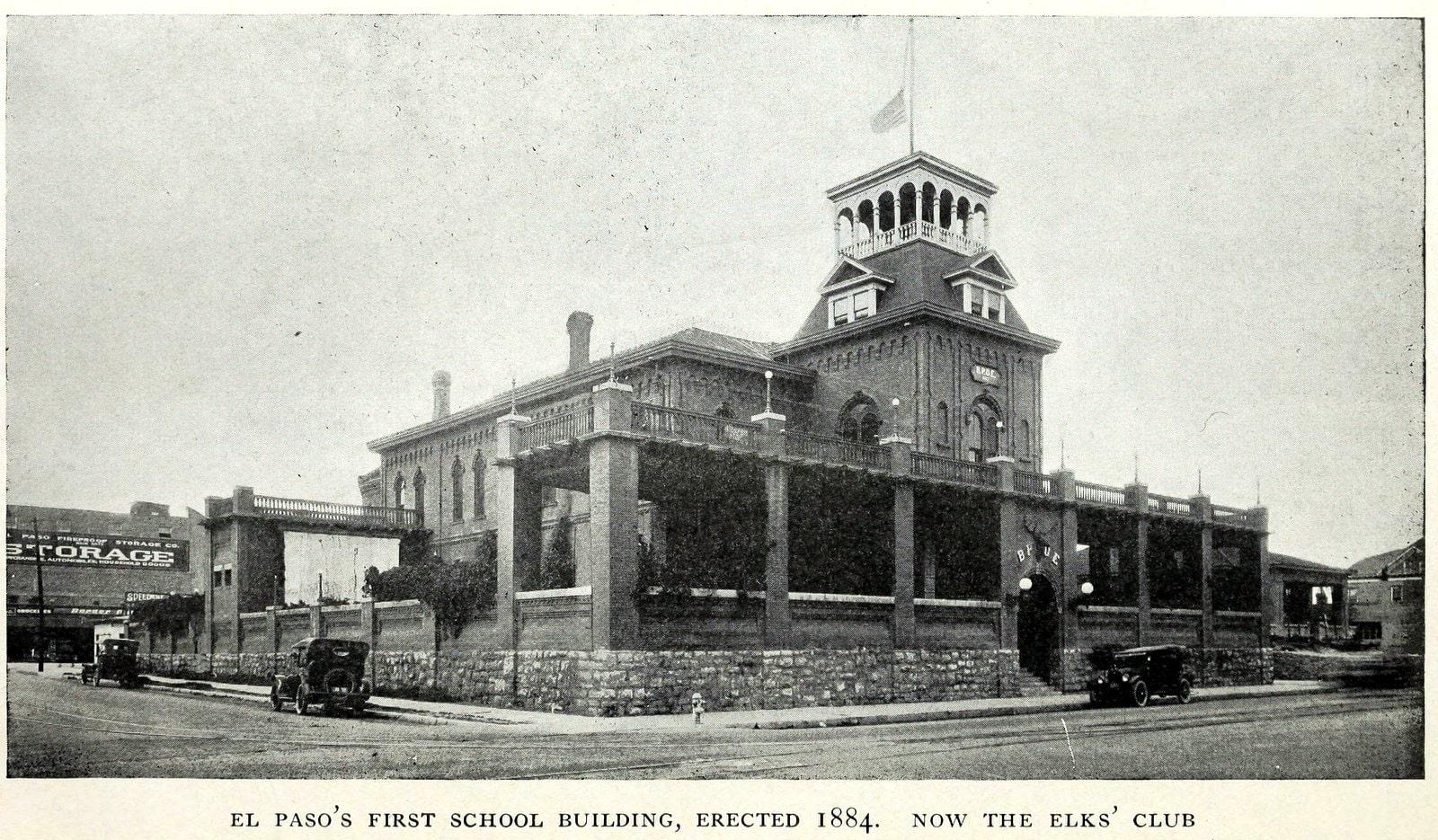 Scenes of old El Paso in 1923 (3)