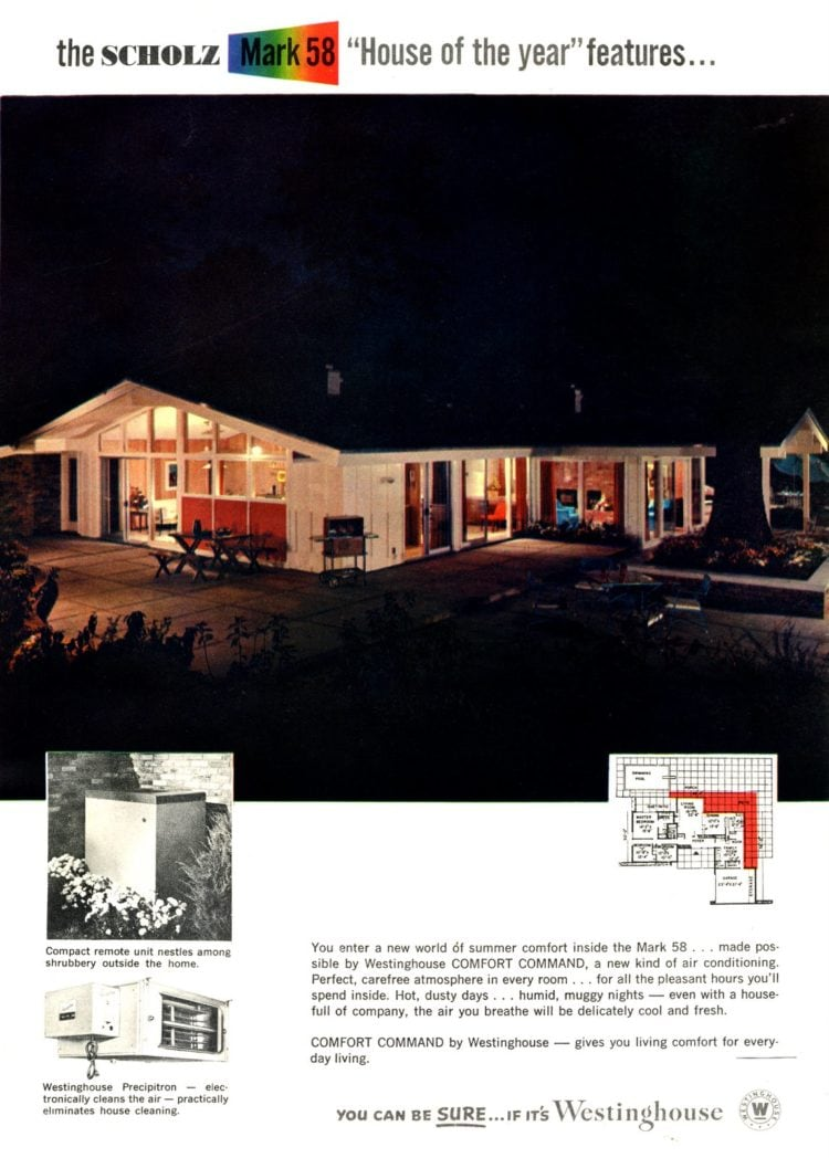Scholz Mark 58 mid-century modern model home exterior (10)