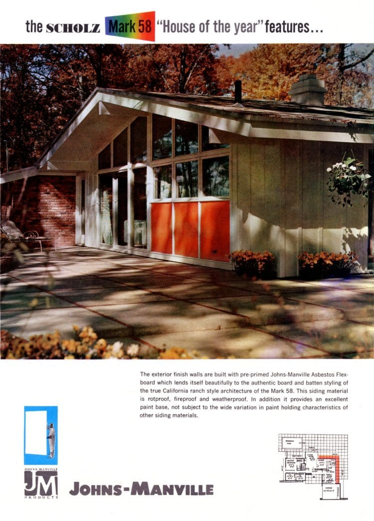 Scholz Mark 58 mid-century modern model home exterior (3)