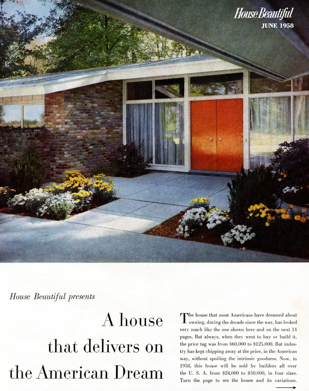 Scholz Mark 58 mid-century modern model home exterior (4)