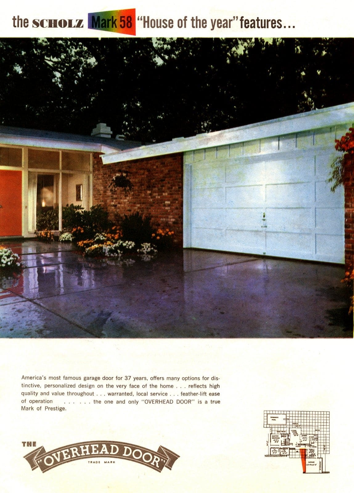 Scholz Mark 58 mid-century modern model home exterior (6)