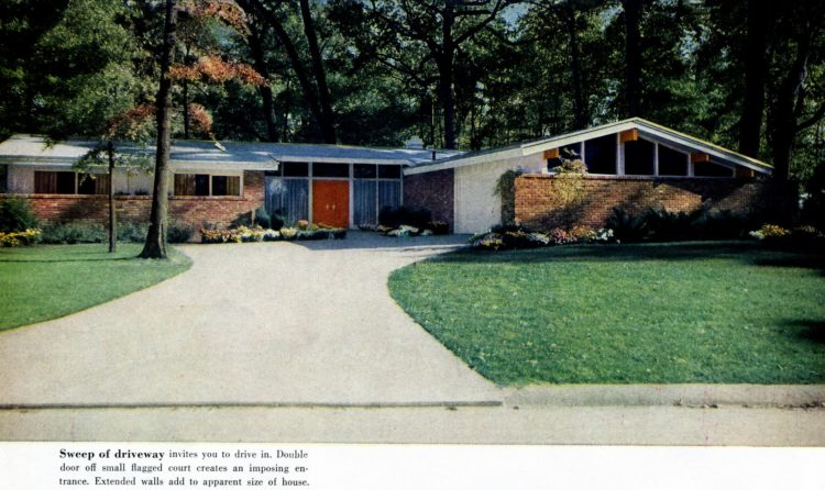 Scholz Mark 58 mid-century modern model home exterior (8)