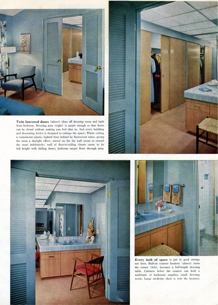 Scholz Mark 58 mid-century modern model home master bedroom (3)