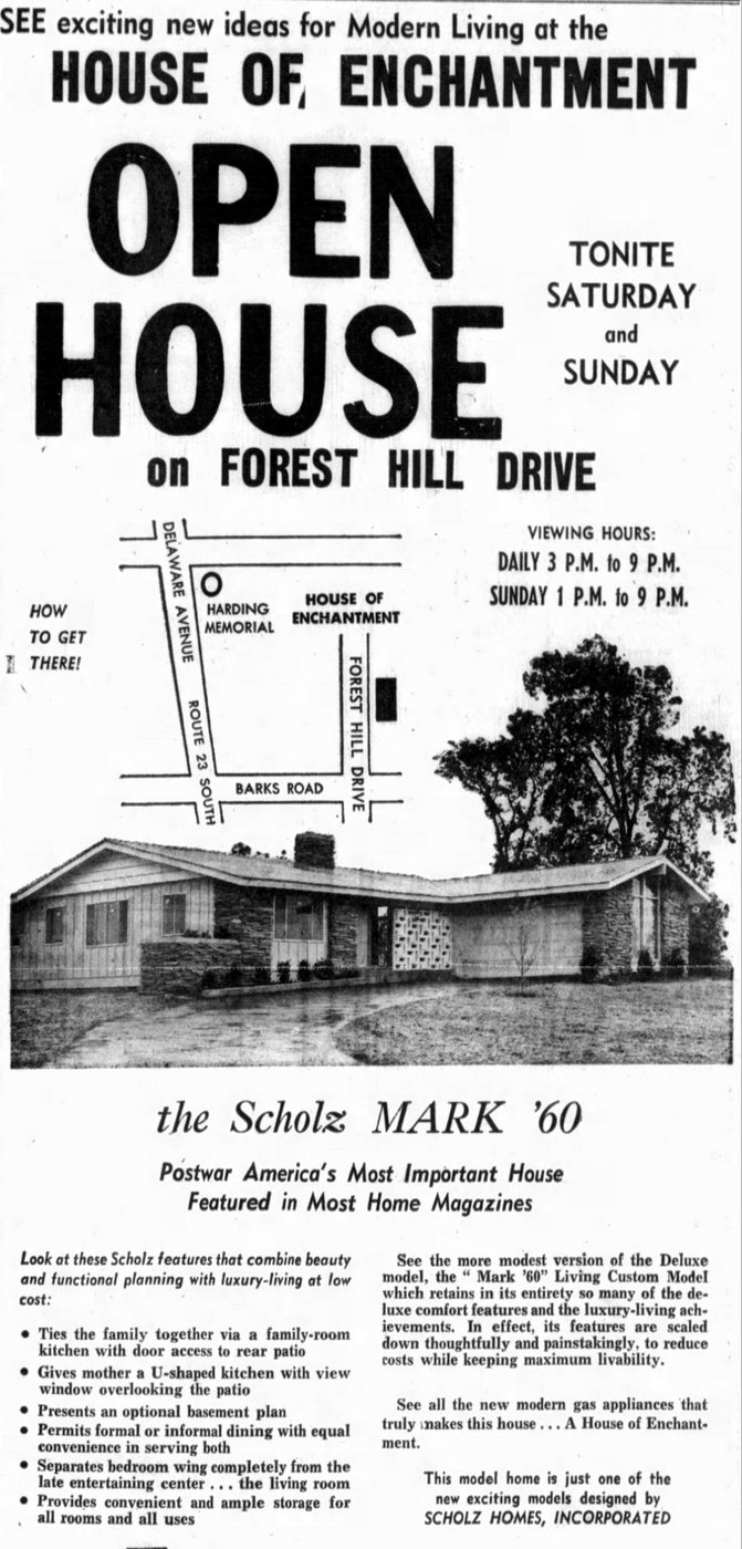 Scholz Mark 60 house design - Version from Marion, Ohio