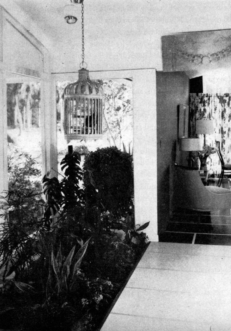Scholz Mark 60 entryway plants