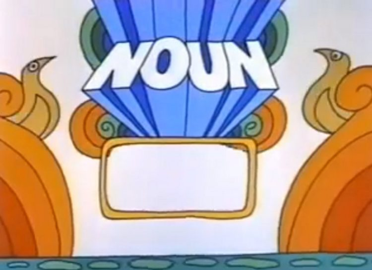 Schoolhouse Rock A Noun Is A Person, Place Or Thing 1973 (2)