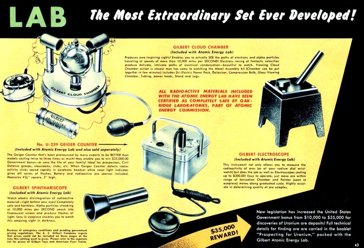 Science atomic kit info