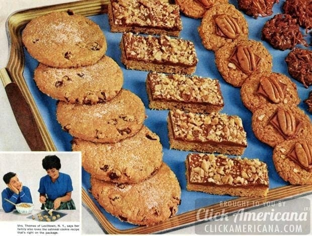 Recipe for toffee bar cookies