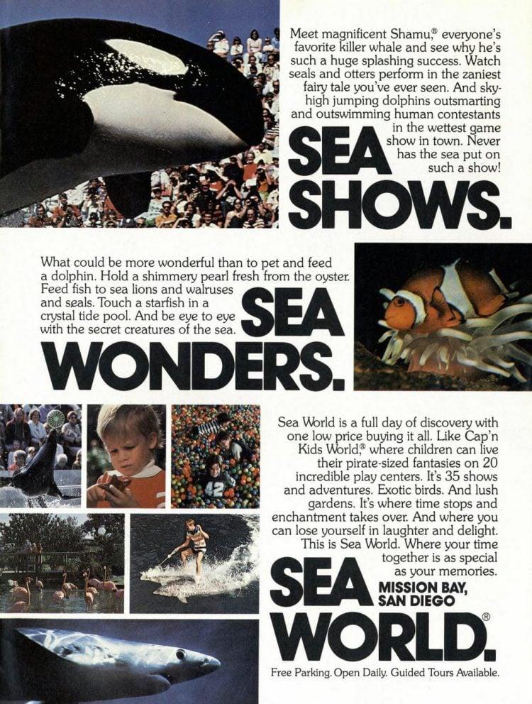 Sea World San Diego 1978